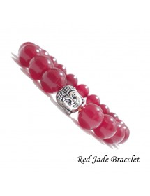 Natural Red Jade Gemstone...