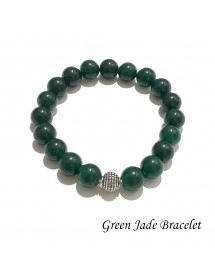 Natural Green Jade Gemstone...