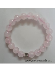 Rose Quartz Bracelet - 10mm