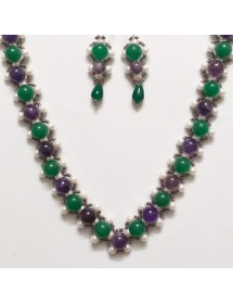 Victorian Set with Amethyst...